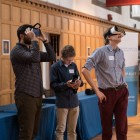 Virtually Israel transported Cornellians to the beaches of Tel Aviv and the Old City of Jerusalem using a virtual reality headset.