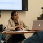 Sital Kalantry, Cornell alum, discusses sex-selective abortion laws in the United States and India.  March 15, 2018