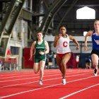 After nearly getting snowed in, the women's track and field team was able to place third at the ECAC Indoor Championships.