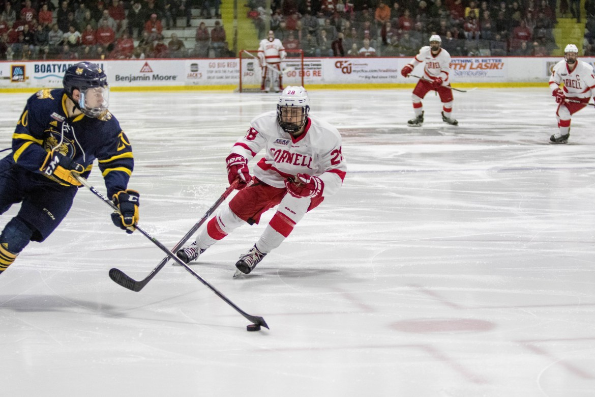After a decisive quarterfinal win against Quinnipiac, the Red looks to finish the job and capture its 13th ECAC title.