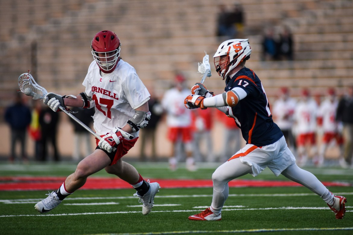 After beating in-state rival Syracuse on Tuesday, Cornell beat Lehigh, another nationally-ranked team.