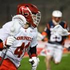 Men's lacrosse vs. Syracuse on April 10th, 2018. (Boris Tsang / Sun Assistant Photography Editor)