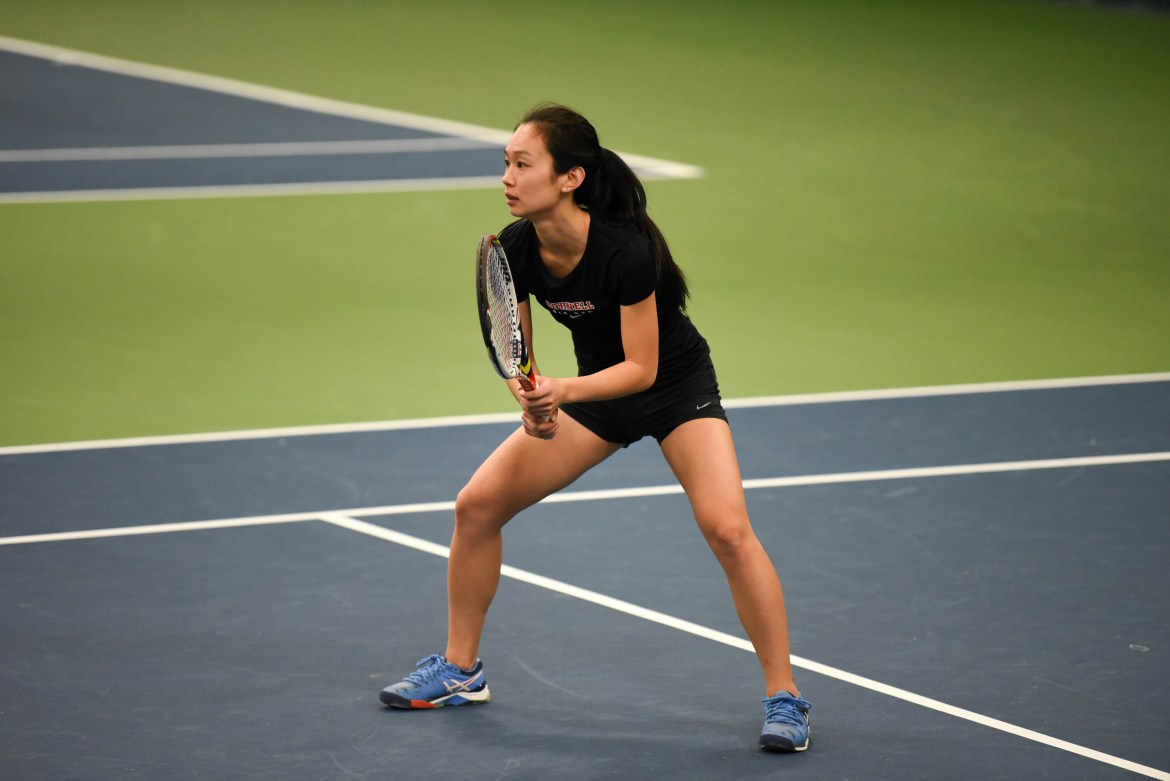 After losing 0-7 to Princeton, women's tennis lost a close 3-4 contest to Penn.