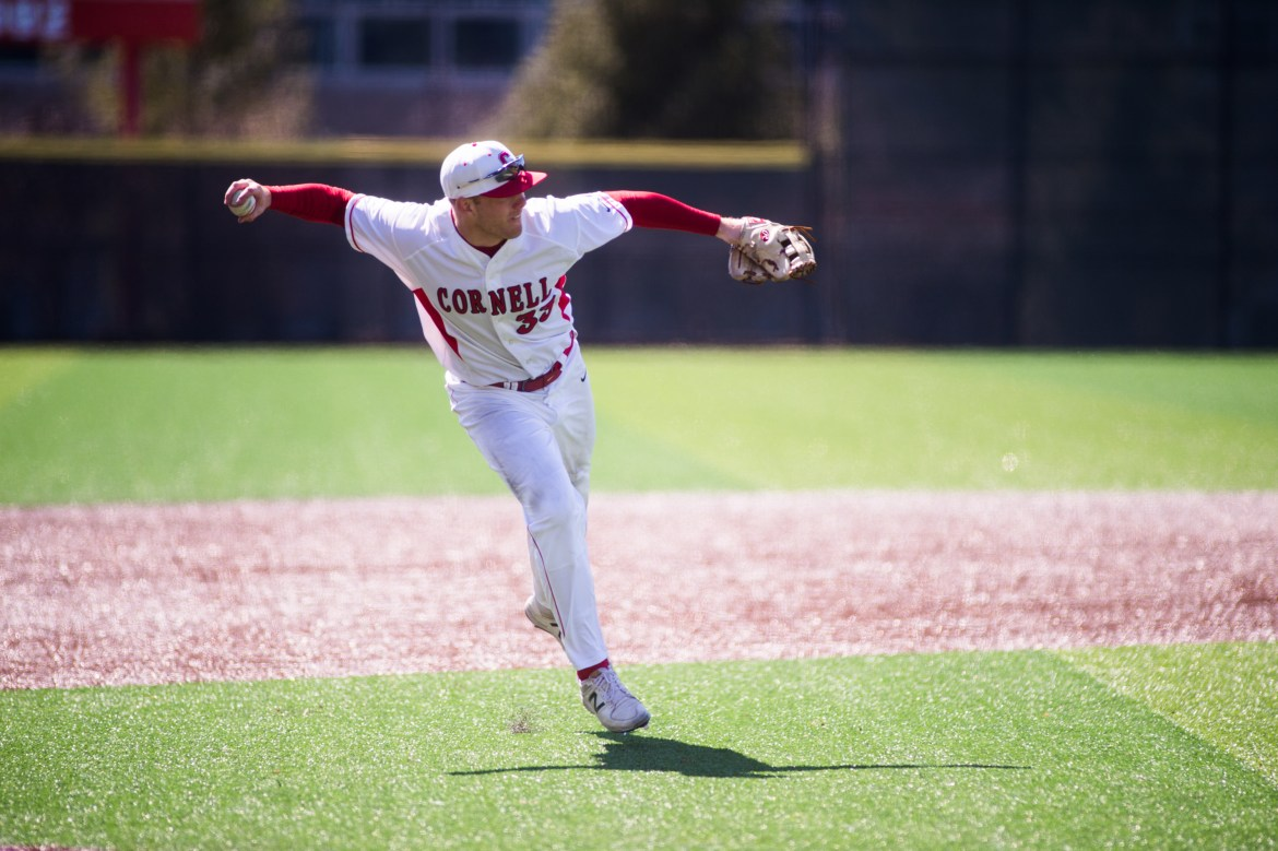 Defensive lapses by the Red in the tenth inning of game two gave Yale an 8-7 win.