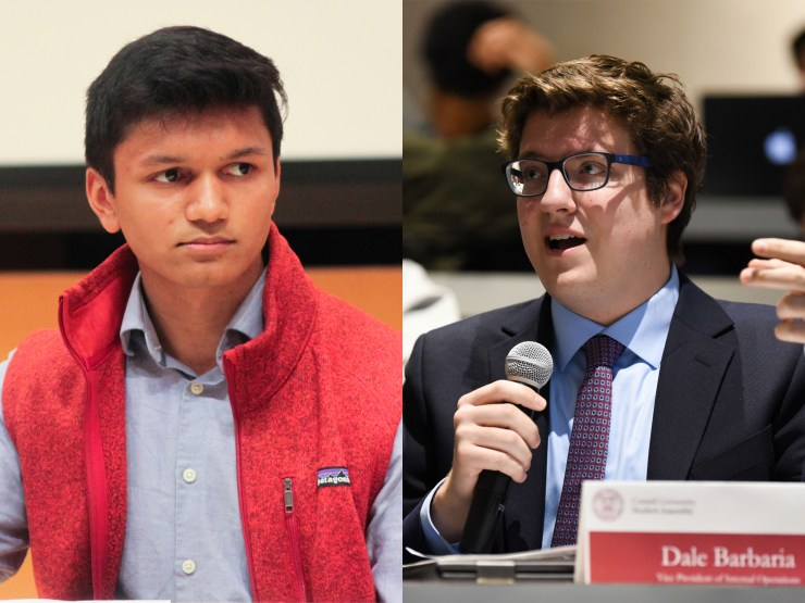 Varun Devatha '19 and Dale Barbaria '19 are the only two candidates running for Student Assembly president.