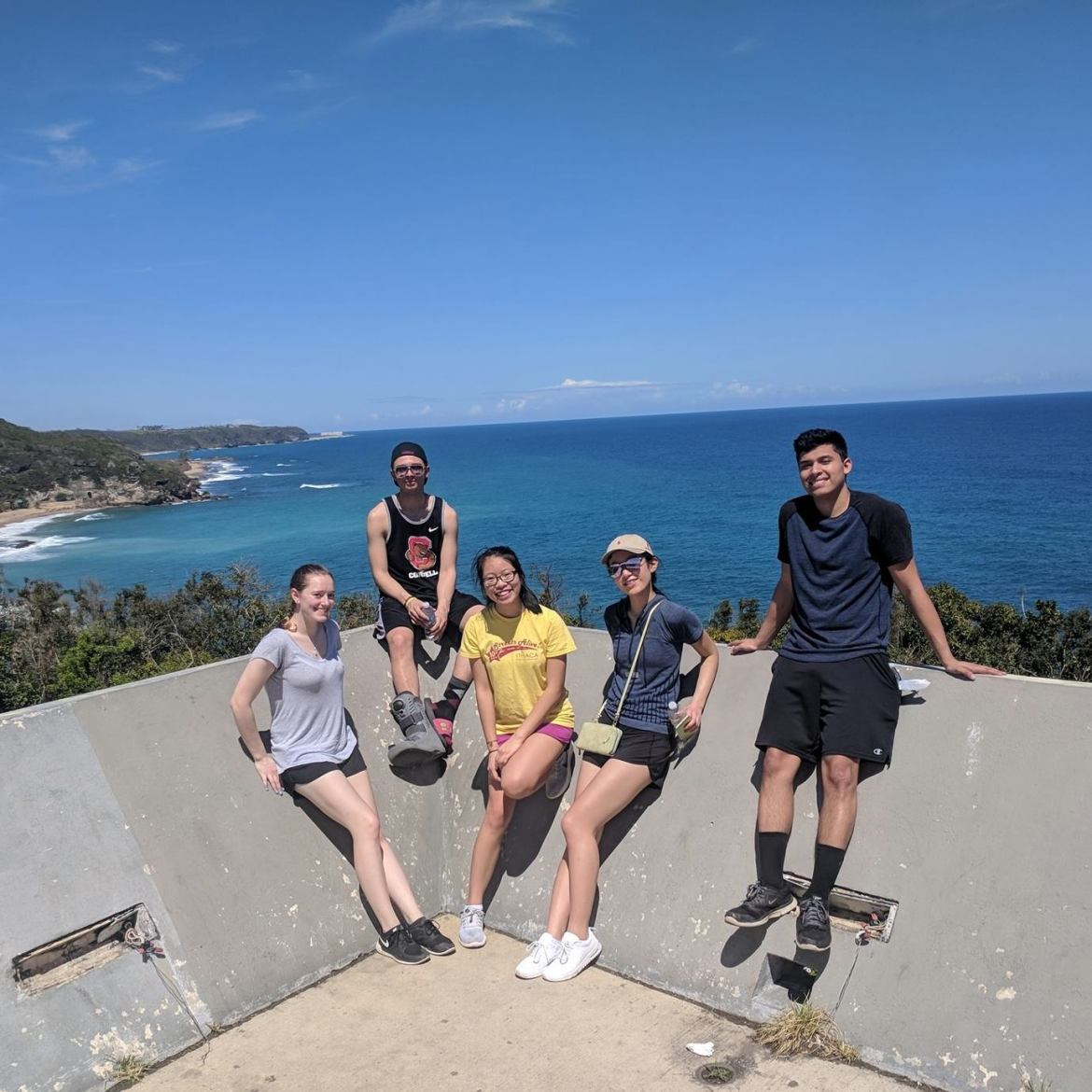 Five Cornell students spent Spring Break volunteering in Puerto Rico.