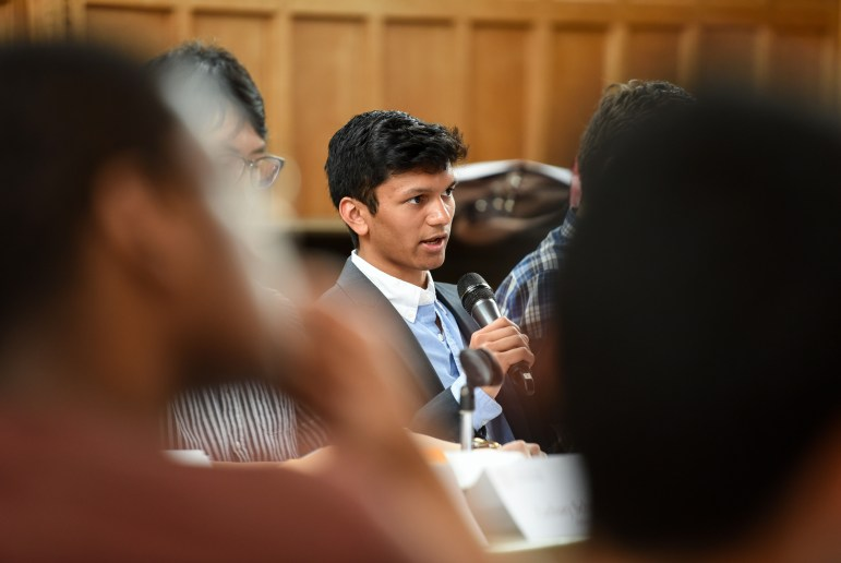 Student Assembly President Varun Devatha '19 said he would seek to have students' input considered as part of Cornell's search for its next police chief