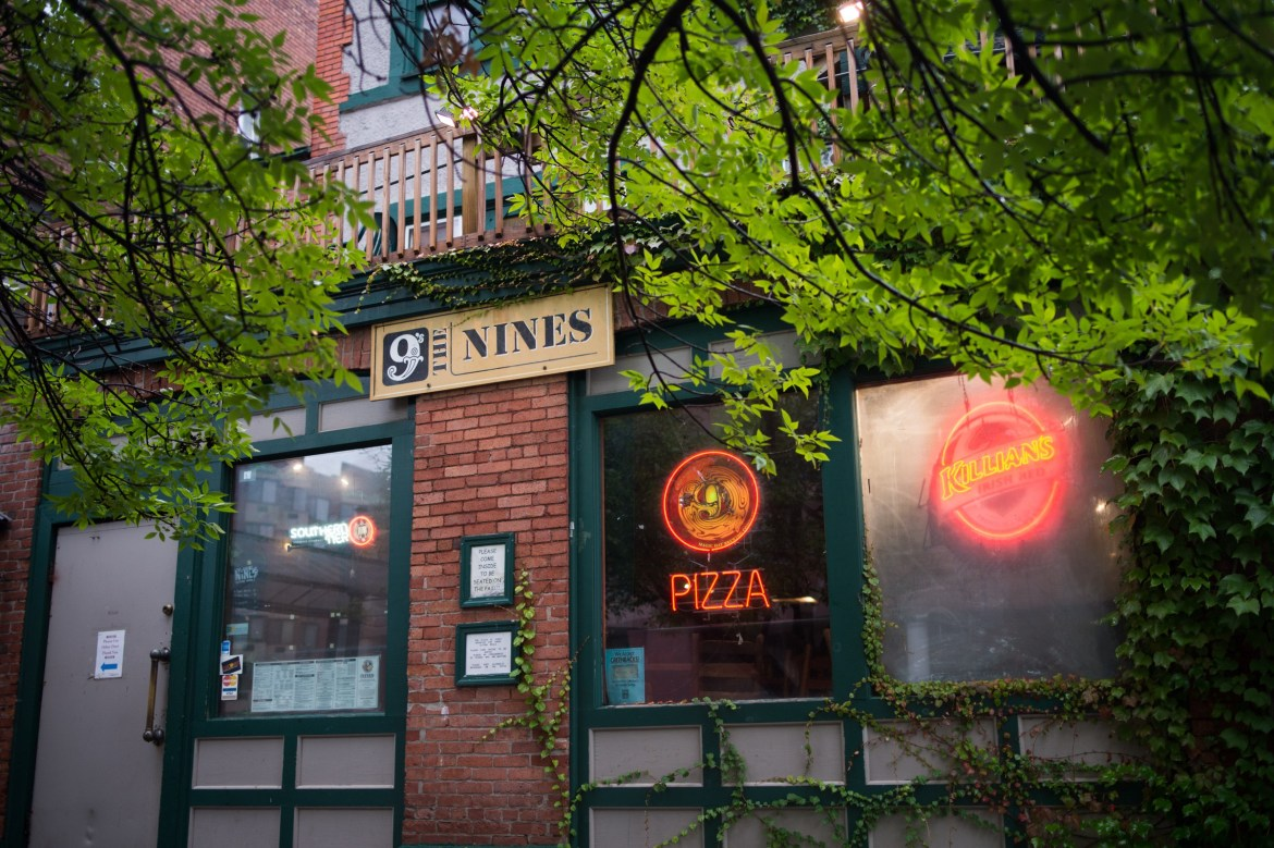 The Nines — a former evening hot-spot and beloved pizza place — has been sold.