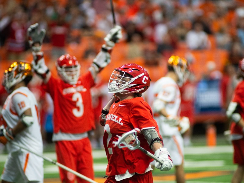 Cornell downed Syracuse on the road last weekend, and can advance to the Final Four with a win against No. 1 Maryland on Sunday.