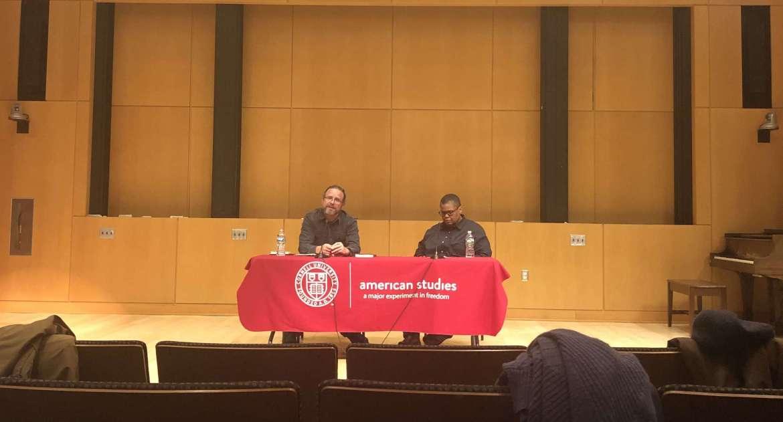 Prof. Keeanga-Yamahtta Taylor, African American studies, Princeton University, joined Prof. Edward E. Baptist, history, spoke in a panel to examine protest politics.