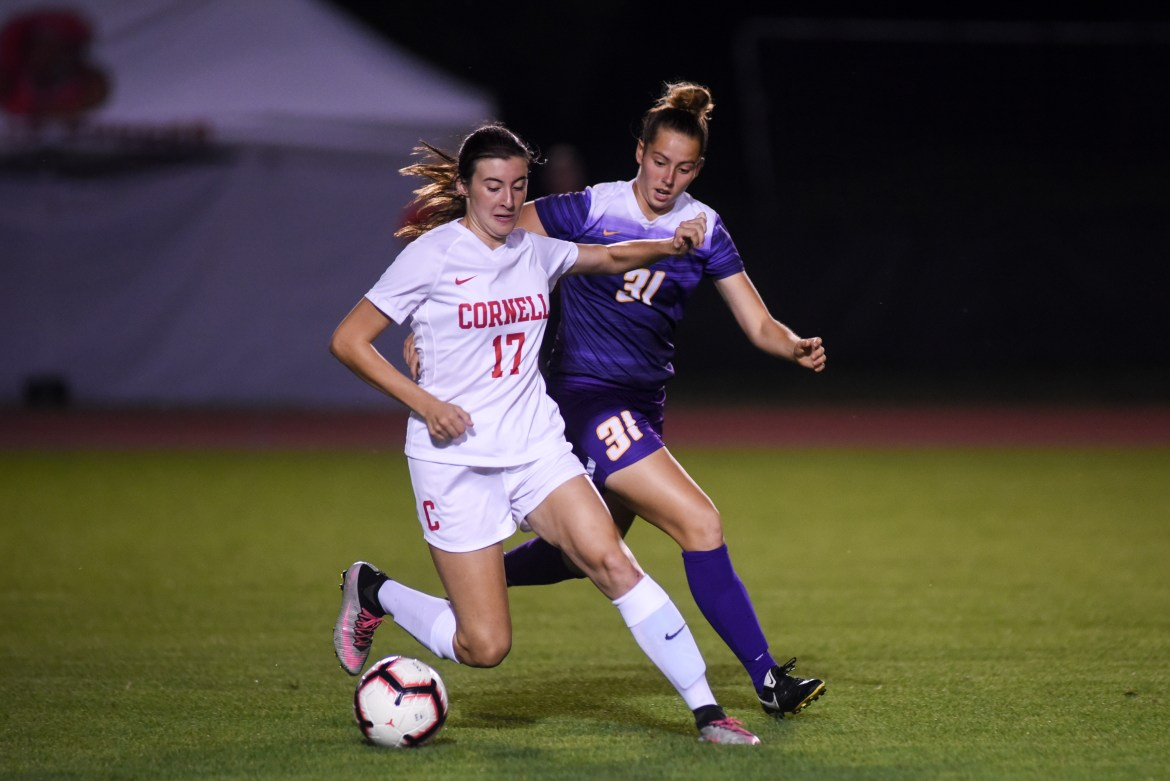 Cornell led Columbia until the 86th minute, but a late goal and double-overtime winner allowed the Lions to escape with a win.