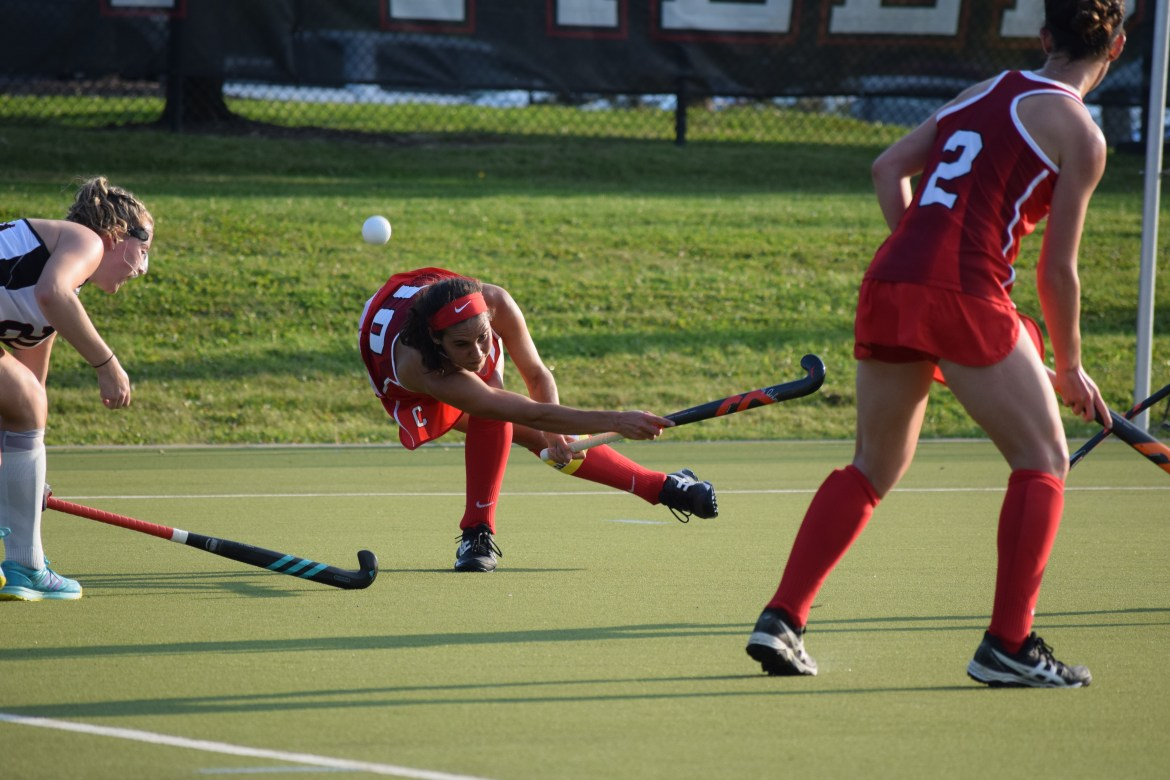 Cornell earned its first win a week ago, but suffered two losses on the road this weekend.