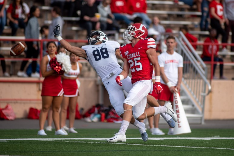 Cornell's pass defense will have its hands full against a Sacred Heart offense that has put up 30 points in every game this season.