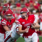 Dalton Banks (pictured) may be listed as QB1, but head coach David Archer '05 plans to use his top three quarterbacks more equally this season.