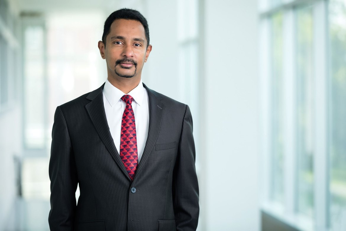 Dean Ray Jayawardhana took the helm of the College of Arts and Sciences on Sept. 1.