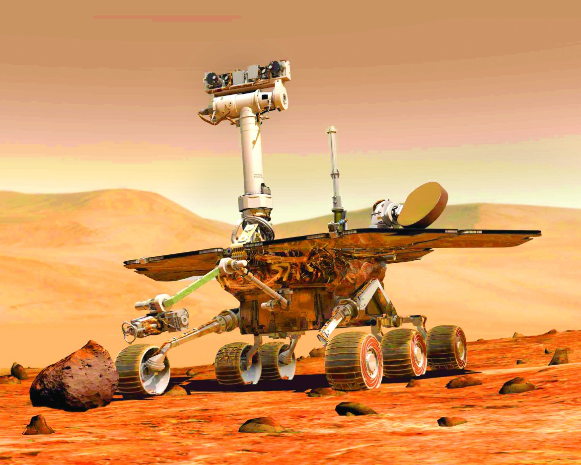 Following a massive dust storm on Mars, one of NASA's rovers, Opportunity, has remained unresponsive. Opportunity was designed for a 90-day mission to Mars but has been there for 14 years.