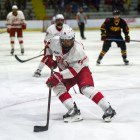 Senior captain Mitch Vanderlaan and the Red get their season started this weekend against Michigan State.