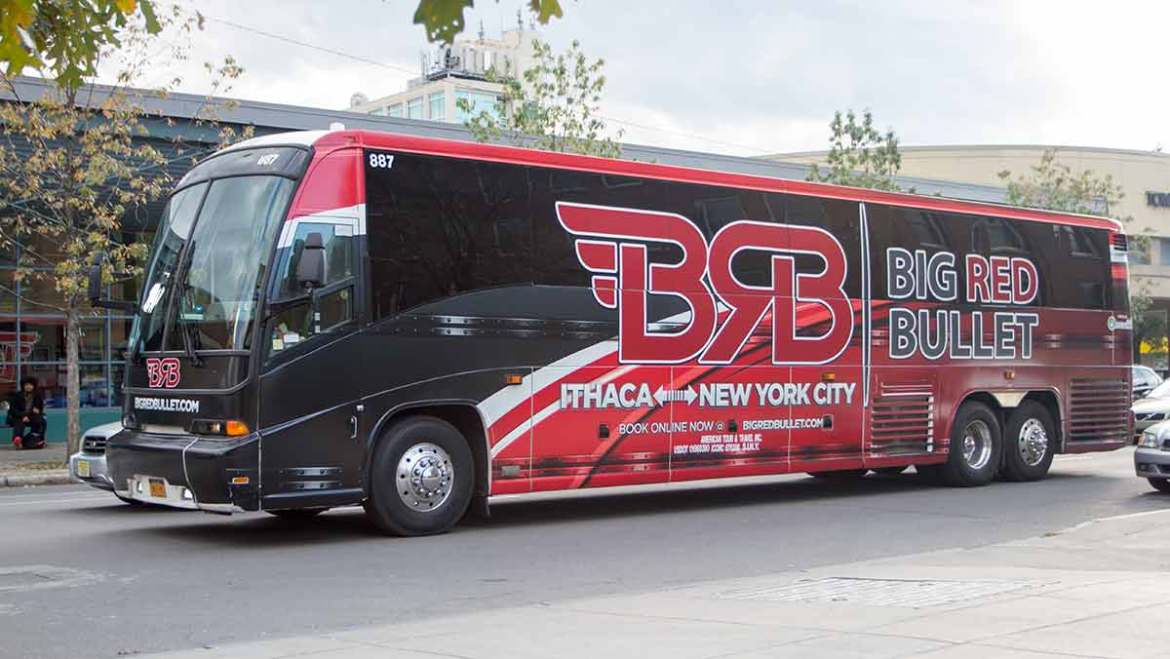 Police: Big Red Bullet Bus Driver Said He 'Fell Asleep at