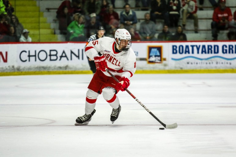 Freshman Max Andreev could make an impact right away for the Red.