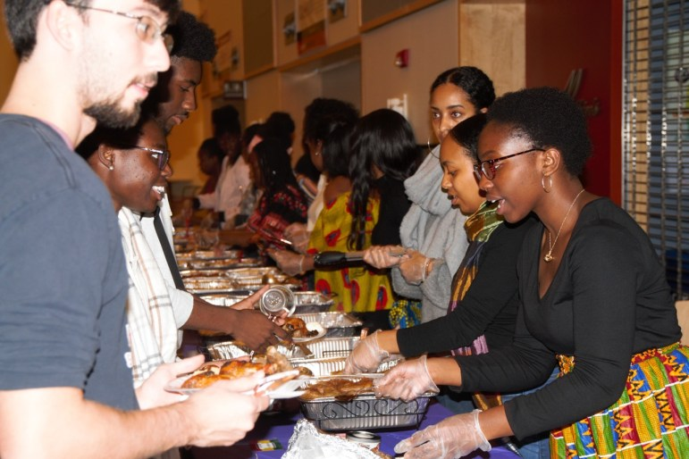 Students explored cuisine and culture of the African continent at Duffield Hall on Saturday.