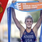 Taylor Knibb is a two-sport athlete at Cornell who is also a world champion triathlete.