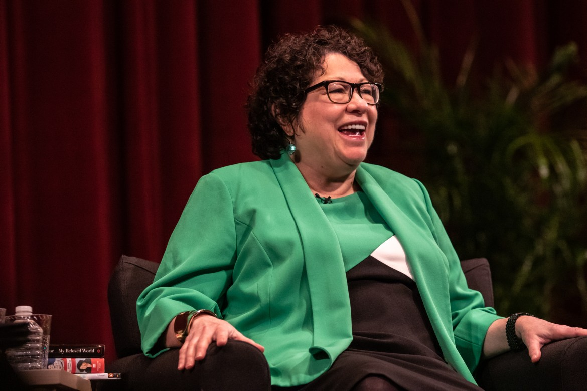 Supreme Court Justice Sonia Sotomayor spoke to Cornellians at Bailey Hall on Thursday, Oct. 18, 2018.