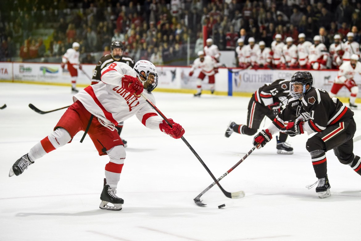 Cornell will look to keep its winning streak alive this weekend at home.