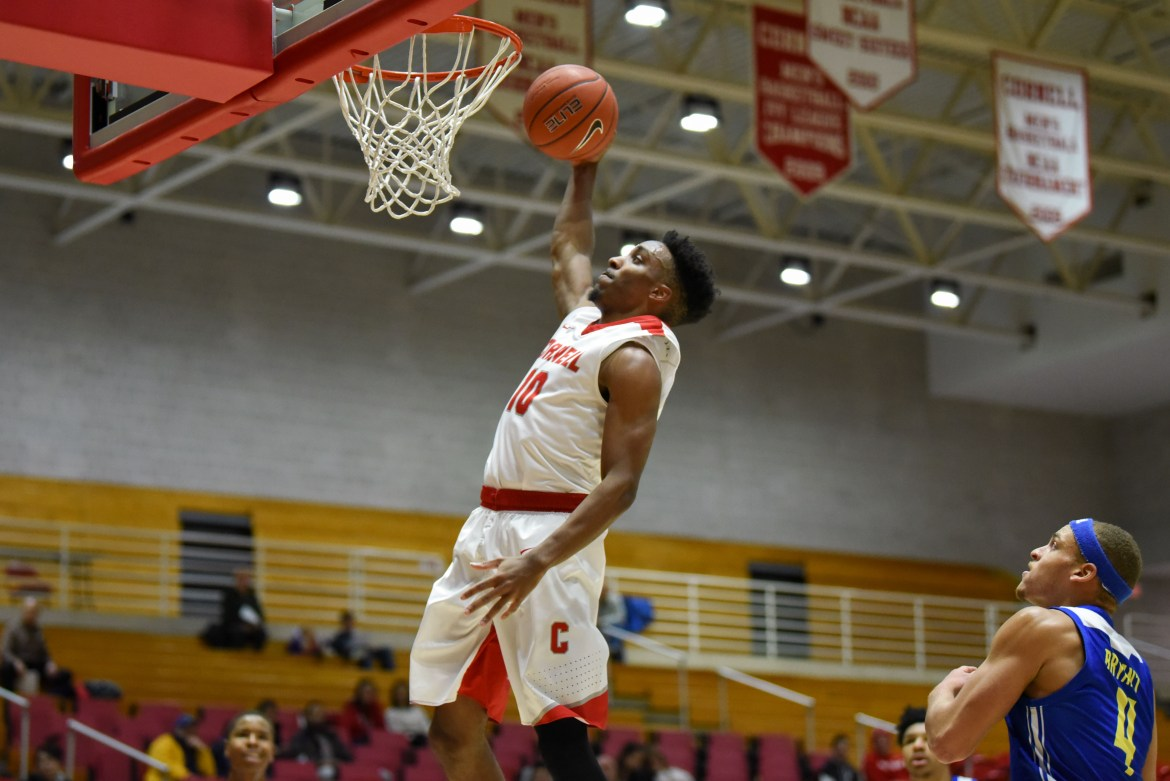 Senior Guard Matt Morgan notched 34 points and seven rebounds this Saturday in the Red's win over NJIT.