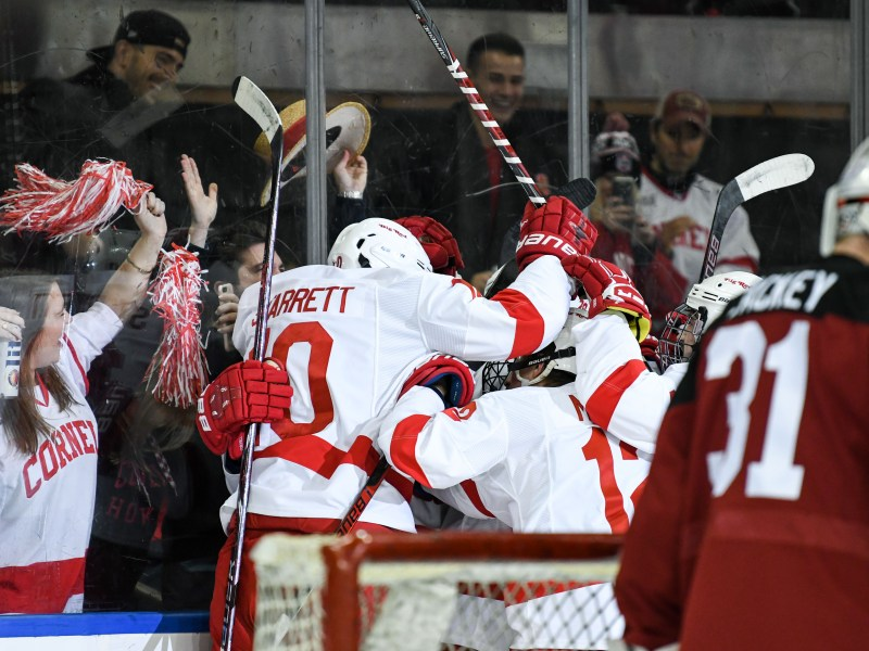 The environment at MSG just wasn't the same as it usually is at Lynah.