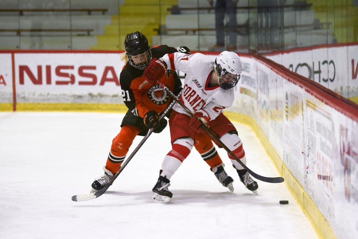 Cornell earned three wins against the Tigers last season.