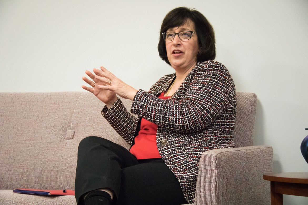 The Sun spoke with President Martha E. Pollack on Monday about issues impacting the University.