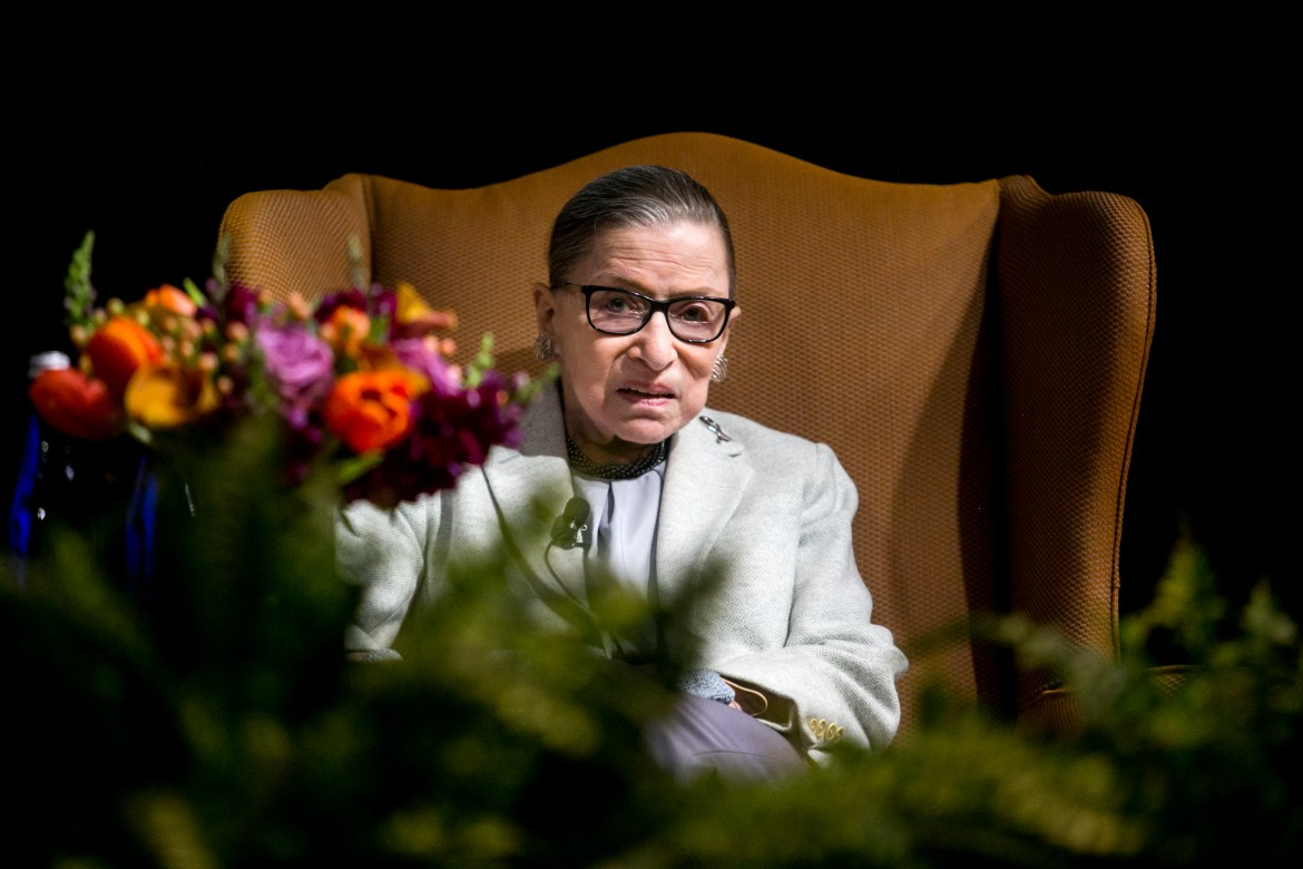 Supreme Court Justice Ruth Bader Ginsburg was admitted to George Washington Hospital Thursday morning after falling Wednesday night and breaking three ribs.