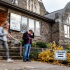 Voting at St Luke Lutheran Church on Nov 6th, 2018 (Michael Wenye Li / Sun Photography Editor)