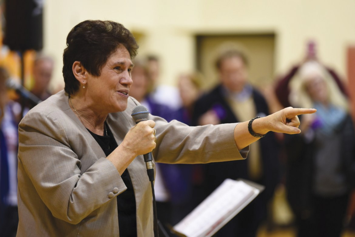A week after her loss to Rep. Tom Reed (N.Y.-23), Tracy Mitrano J.D. '85 announced her plans to run for representative of the 23rd district in 2020.