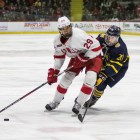Men's Ice Hockey vs. Quinnipiac ( Michael Wenye Li/ Sun Photography Editor)
