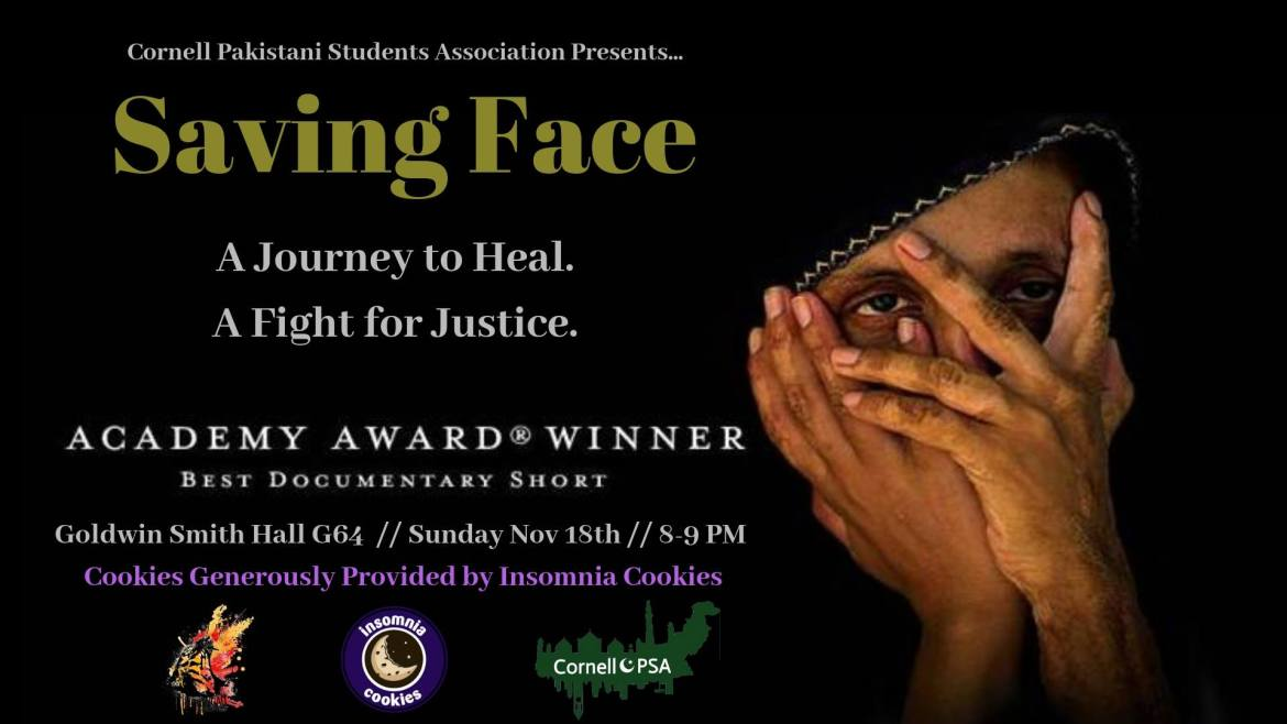 On Sunday, the Pakistani Students Association held a documentary screening of the film Saving Face.