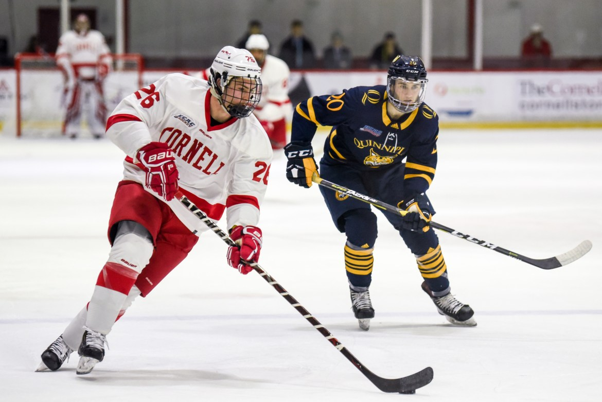 The Red forced a gritty draw in its second meeting with the Bobcats after losing 4-2 at Lynah on Nov. 16.
