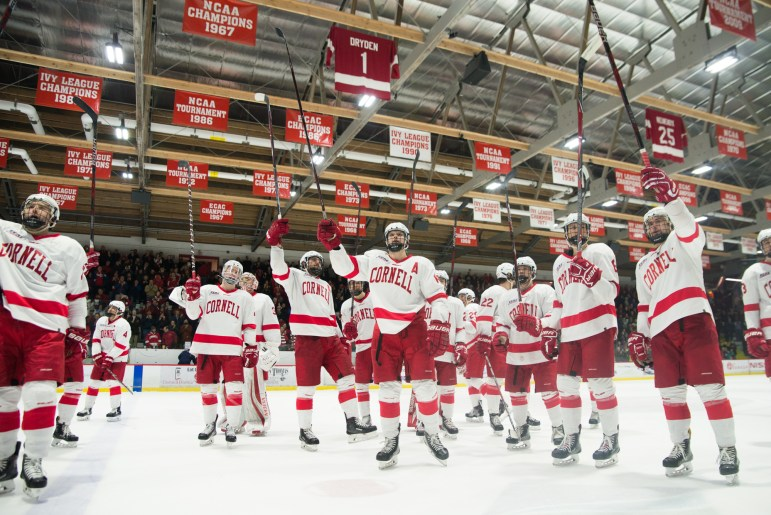 When Ken Dryden '69 was playing for Cornell and earning his sweater a place in Lynah's rafters, Arizona State was a few years away from being established as a club team.