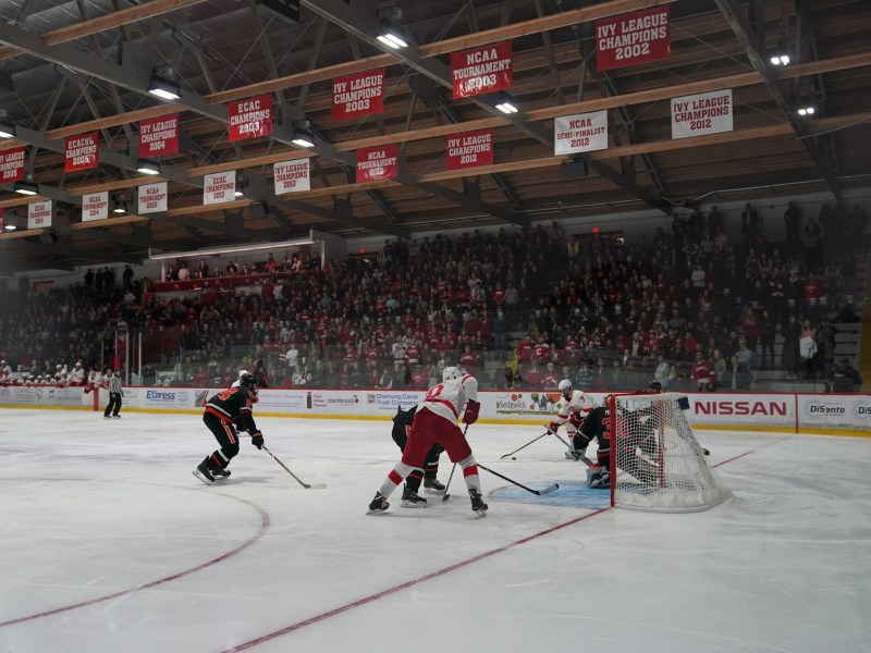 Cornell's Lynah Rink has decades of rich history in its rafters. Arizona State, visiting Ithaca this weekend, is Division I college hockey's newest team.