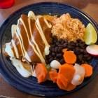 chicken mole enchiladas