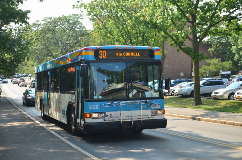 Due to route delays and shortages in the number of buses, TCAT has started renting buses from other companies or purchasing used buses to convert into TCAT buses.