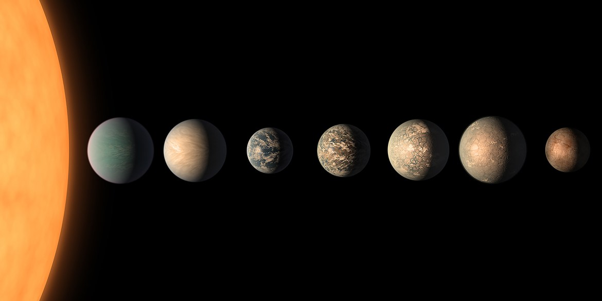 Prof. Lisa Kaltenegger's research focuses on detecting possible habitable worlds TRAPPIST-1.