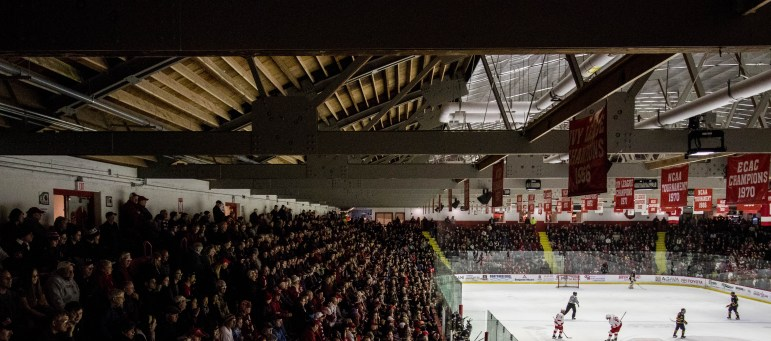 A blue blood takes on the up-and-coming new blood at Lynah Rink this weekend.