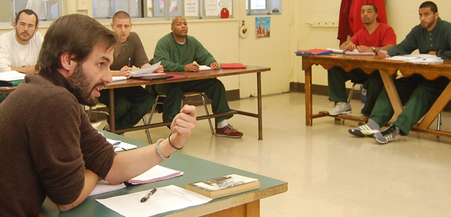 Cornell students can get involved by serving as course teaching assistants in the Prison Education Program.