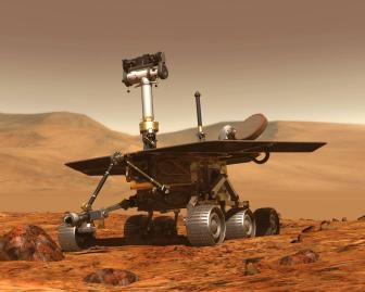 Opportunity's twin rover, Spirit.