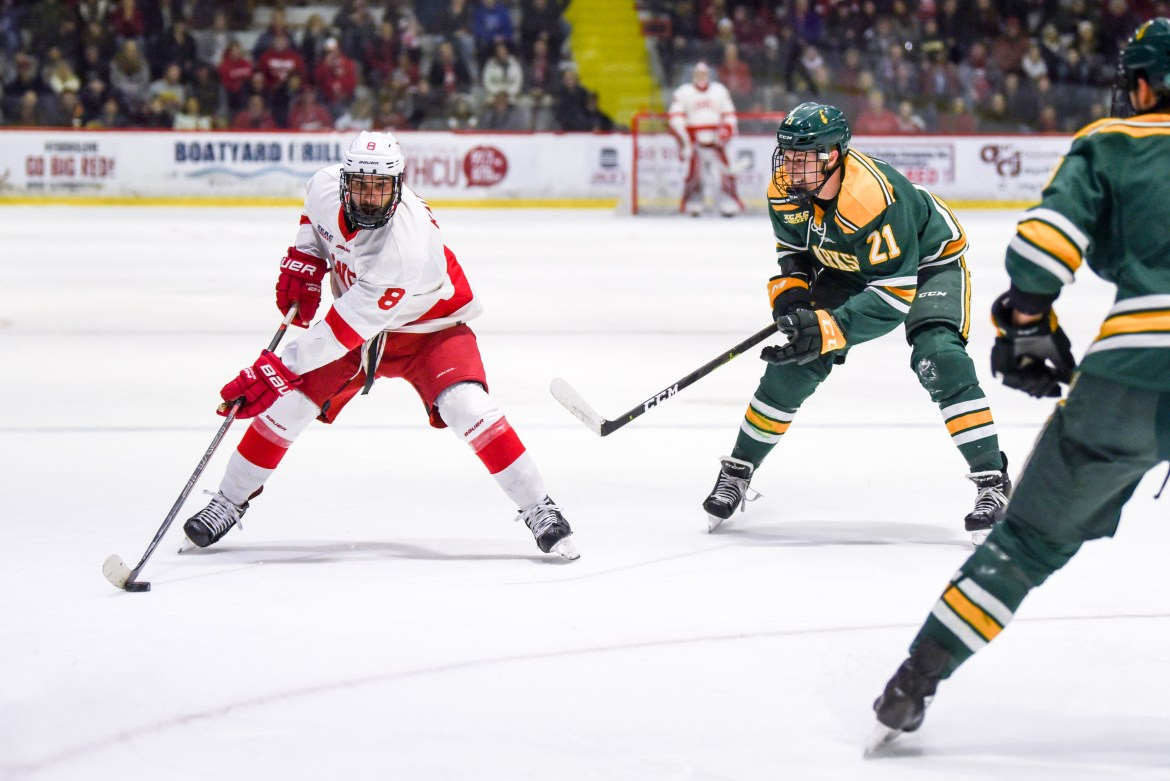 Coming off a weekend sweep, the Red hopes to continue its ECAC dominance.