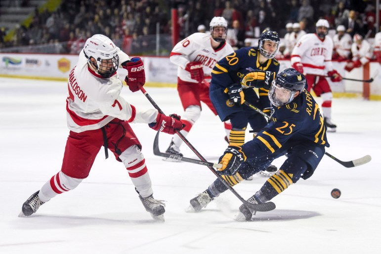 Cornell is rearing to get back into action against strong ECAC competition.