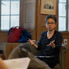 Chie Matsumoto speaks at lecture: 