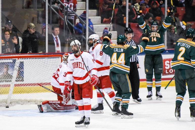 Cornell suffered a heartbreaking loss at Lake Placid, but is happy with the way it played.