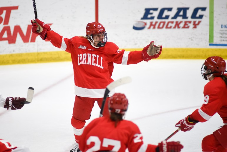 Cornell has had plenty of reason to celebrate this season — it's lost just five games — but hopes the year isn't over quite yet.